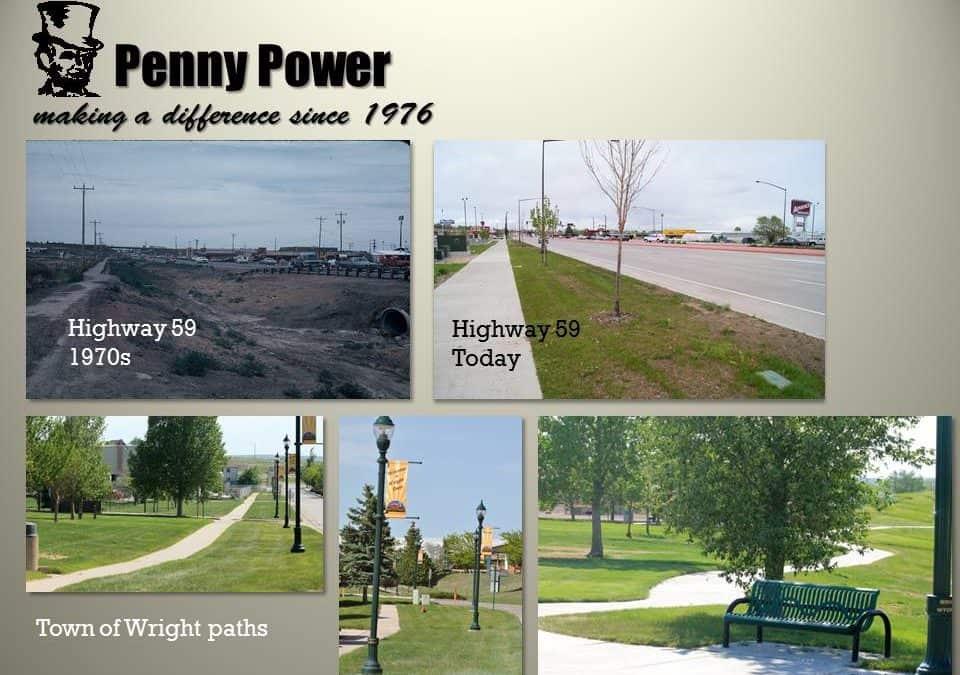 Penny Power Sidewalks and Paths