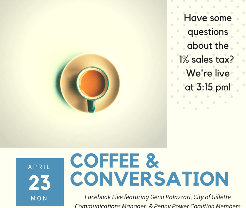 Coffee and Conversation Live on Facebook April 23