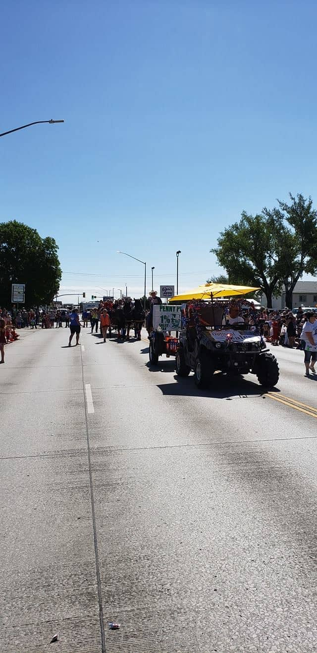 Fourth of July Parade a Success for Penny Power