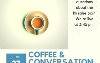 Coffee and Conversation with the County!