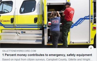 Article: Emergency and safety equipment purchased with 1% sales tax