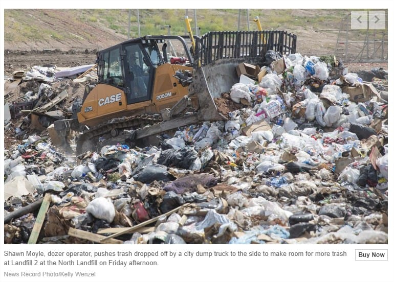 Article: 1 Percent tax helps county comply with landfill regulations